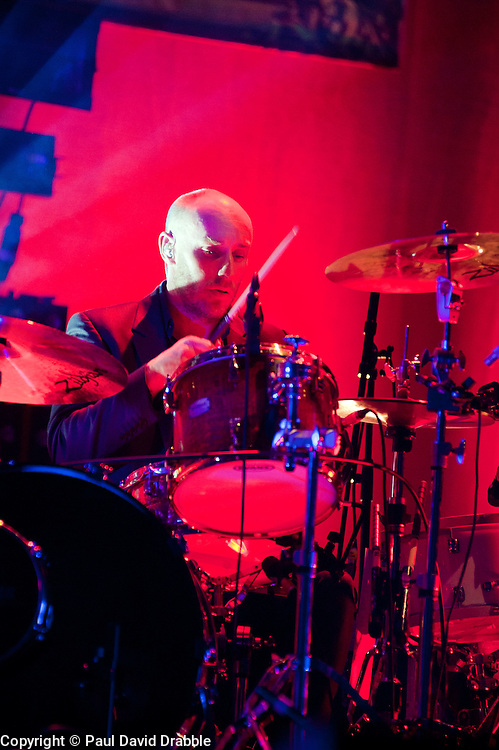 drummer, Richard Jupp Elbow at Sheffield Motorpoint Arena  .19 March 2011.Images © Paul David Drabble