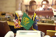 The atmosphere at the Swearing-in of the Honorable David A. Patterson at the 55th Governor of New York  at The New York State Capitol in the Assembly Chambers on March 17, 2008