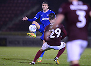 Stuart O'Keefe of Portsmouth (l) in action. EFL Skybet Football League one match, Northampton Town v Portsmouth at the Sixfields Stadium in Northampton on Tuesday 12th September 2017. <br /> pic by Bradley Collyer, Andrew Orchard sports photography.