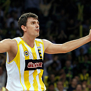 Fenerbahce Ulker's Mirsad TURKCAN during their Turkish Basketball league Play Off Final Sixth Leg match Fenerbahce Ulker between Efes Pilsen at the Abdi Ipekci Arena in Istanbul Turkey on Wednesday 02 June 2010. Photo by Aykut AKICI/TURKPIX