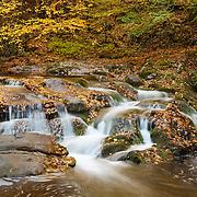 Laurel Creek Lower Cascades - Great Smoky Mountains - Autumn