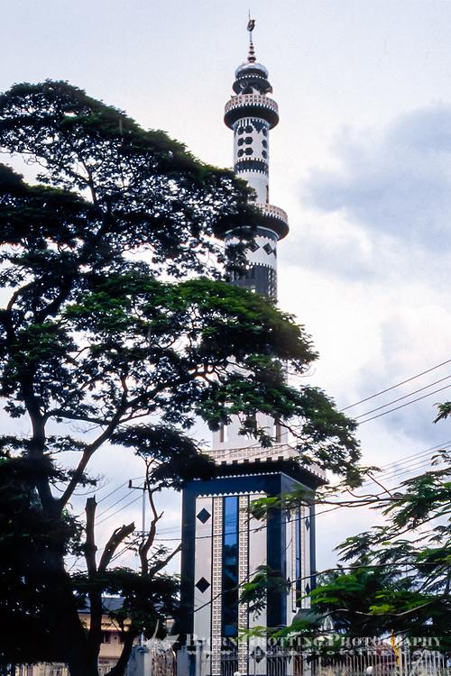 Riau Islands, Bintan. A mosque in Tanjung Pinang.