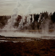 Thermal vents in Yellowstone National Park, Wyoming, USA