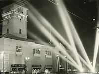 1936 Grand opening of Sears & Roebuck on Santa Monica Blvd.