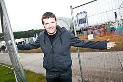 Scottish stand-up comedian Kevin Bridges backstage..Rockness, Sunday 13th June..Pic ©2010 Michael Schofield. All Rights Reserved.