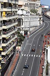 May 28, 2017 - Monte Carlo, Monaco - Motorsports: FIA Formula One World Championship 2017, Grand Prix of Monaco, .#3 Daniel Ricciardo (AUS, Red Bull Racing), #77 Valtteri Bottas (FIN, Mercedes AMG Petronas F1 Team) (Credit Image: © Hoch Zwei via ZUMA Wire)