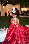 BARBARELLA, Vernissage. Opening of Art Basel Miami Beach. Convention Centre.  Miami Beach. 30 November 2010. -DO NOT ARCHIVE-© Copyright Photograph by Dafydd Jones. 248 Clapham Rd. London SW9 0PZ. Tel 0207 820 0771. www.dafjones.com.