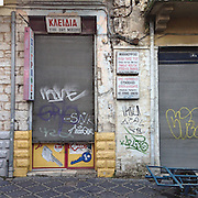 A sign and locksmith shop in Ioannina.