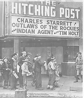 1948 Hitching Post Theater on Hollywood Blvd. just east of Vine Street.