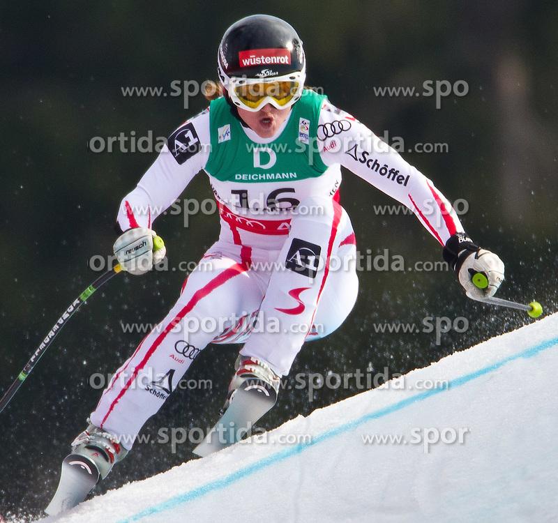 13.02.2011, Kandahar, Garmisch Partenkirchen, GER, FIS Alpin Ski WM 2011, GAP, Damen, Abfahrt, im Bild Goldmedaillen Gewinnerin und Weltmeisterin Elisabeth Goergl (AUT) // Gold Medal and World Champion Elisabeth Goergl (AUT)  during Downhill Ladies Fis Alpine Ski World Championships in Garmisch Partenkirchen, Germany on 13/2/2011. EXPA Pictures © 2011, PhotoCredit: EXPA/ J. Groder