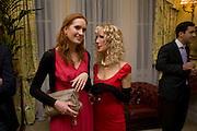 SRI CARMICHAEL; BASIA BRIGGS, Mrs. Richard Briggs at home to celebrate Catherine Meyer's birthday. Sloane Gardens. London. 28 January 2009