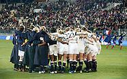 Women's 6 Nations France Women v England Women 1st February 2014