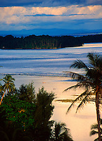 Sunset at Gizo, Solomon Islands
