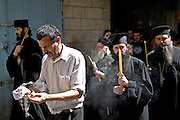 The Via Dolorosa Procession, Jerusalem, Israel, Good Friday Easter 2005