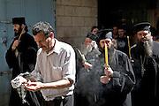 The Via Dolorosa Procession, Jerusalem, Israel, Good Friday Easter 2005