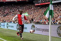 14-05-2017 NED: Kampioenswedstrijd Feyenoord - Heracles Almelo, Rotterdam<br /> In een uitverkochte Kuip pakt Feyenoord met een 3-1 overwinning het landskampioenschap / Eljero Elia #11