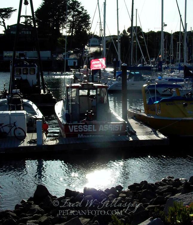 Santa Cruz Harbor 0829