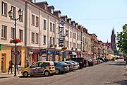 Centrum Bialegostoku, Polska<br /> Centre of Białystok, Poland