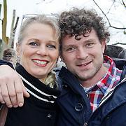 NLD/Harderwijk/20100320 - Opening nieuwe Dolfinarium seizoen met nieuwe show, Mary-Lou Steenis en partner Bram maarsseveen