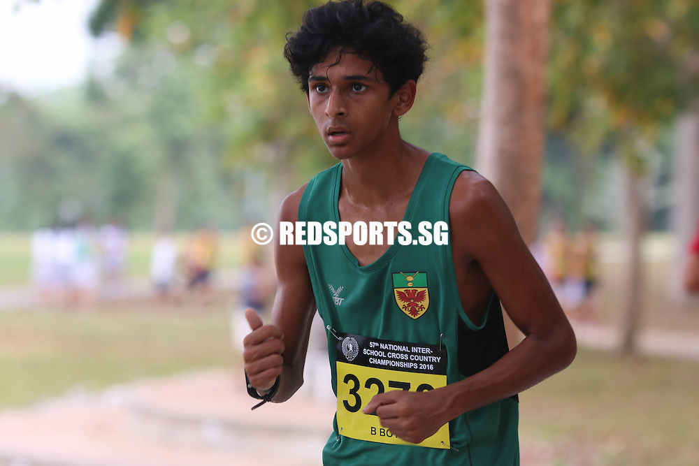 Armand Dhilawala Mohan (#3270) of RI came in tenth with a timing of 16:57.55. (Photo © Chua Kai Yun/Red Sports)