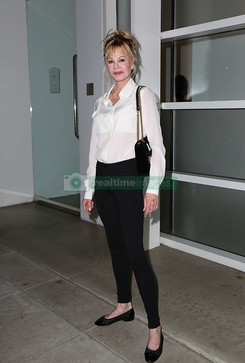 Sharon Stone, Melanie Griffith, at discussion to raise awareness for Women's Brain Health at Gagosian Gallery in Los Angeles, California October 18, 2017. 18 Oct 2017 Pictured: Melanie Griffith. Photo credit: FS/MPI/Capital Pictures / MEGA TheMegaAgency.com +1 888 505 6342