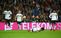 November 10, 2017 - London, England, United Kingdom - England's Jamie Vardy..during International Friendly match between England  and Germany  at Wembley stadium, London  on 10 Nov  , 2017 ..during International Friendly match between England  and Germany  at Wembley stadium, London  on 10 Nov  , 2017  (Credit Image: © Kieran Galvin/NurPhoto via ZUMA Press)