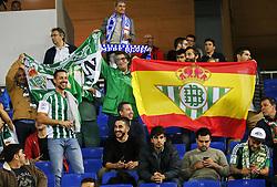October 30, 2017 - Barcelona, Catalonia, Spain - Betis supporters during La Liga match between RCD Espanyol v Real Betis Balompie,in Barcelona, on october 30, 2017. (Credit Image: © Joan Valls/NurPhoto via ZUMA Press)