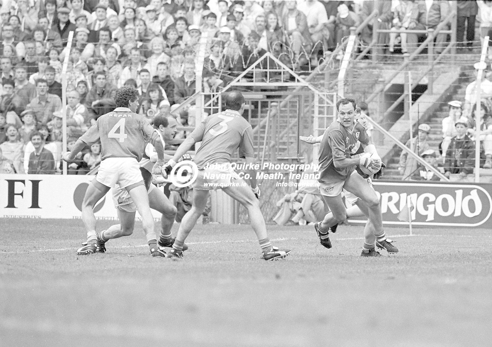 10-08-1991. Meath v Laois - Leinster SFC Final at Croke Park.<br /> Gerry McEntee, Meath.<br /> Photo: John Quirke - www.quirke.ie<br /> ©John Quirke Photography, 16 Proudstown Road, Navan. Co. Meath. (info@quirke.ie / 046-9028461 / 087-2579454).