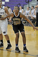 Clearview High School at Keystone High School girls varsity basketball on January 15, 2014. Images © David Richard and may not be copied, posted, published or printed without permission.