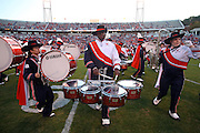 Oct 23, 2010; Charlottesville, VA, USA;  Virginia Cavaliers band before the game against the Eastern Michigan Eagles at Scott Stadium.  Virginia won 48-21. Mandatory Credit: Andrew Shurtleff