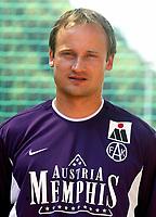 Fotball<br /> 01.07.2003<br /> Sigurd Rushfeldt - Austria Wien<br /> Foto: Michael Kop, Digitalsport