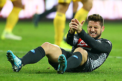 December 1, 2017 - Naples, Italy - Dries Mertens of Napoli during the Serie A match between SSC Napoli and Juventus at Stadio San Paolo on December 1, 2017 in Naples, Italy. (Credit Image: © Matteo Ciambelli/NurPhoto via ZUMA Press)