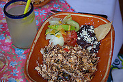 Machaca, shredded beef breakfast, El Tuito, Costalegre, Jalisco, Mexico
