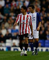 Photo: Steve Bond.<br />Birmingham City v Sunderland. The FA Barclays Premiership. 15/08/2007. Carlos Edwards