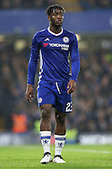 Michy Batshuayi of Chelsea looking on. The Emirates FA cup, 3rd round match, Chelsea v Peterborough Utd at Stamford Bridge in London on Sunday 8th January 2017.<br /> pic by John Patrick Fletcher, Andrew Orchard sports photography.