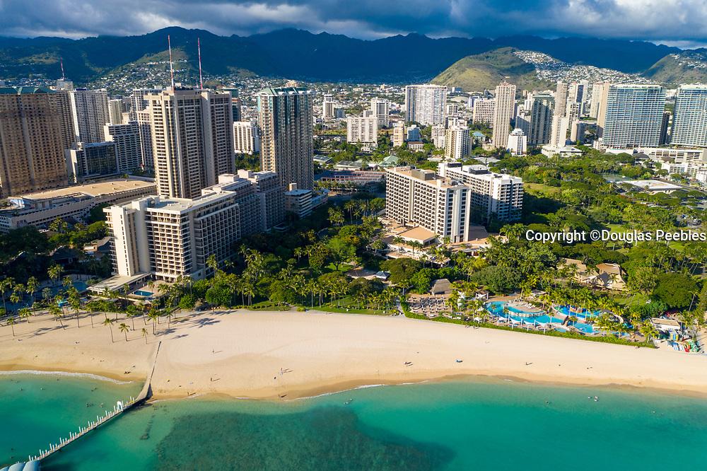 Hale Koa Hotel, Waikiki Beach, Honolulu, Oahu, Hawaii, USA