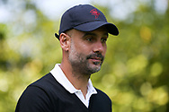 Pep Guardiola during the Celebrity Pro-Am day at Wentworth Club, Virginia Water, United Kingdom on 23 May 2018. Picture by Phil Duncan.