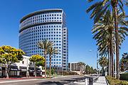 Plaza Tower On Anton Blvd In Costa Mesa
