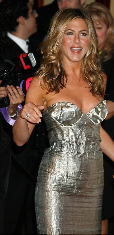 CENTURY CITY, CA. - June 12: Jennifer Aniston arrives at Women In Film's 2009 Crystal + Lucy Awards held at the Hyatt Regency Century Plaza on June 12, 2009 in Century City, California.