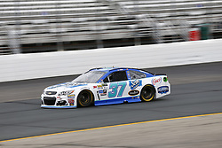 September 22, 2017 - Loudon, New Hampshire, United States of America - September 22, 2017 - Loudon, New Hampshire, USA: Chris Buescher (37) takes to the track to practice for the ISM Connect 300 at New Hampshire Motor Speedway in Loudon, New Hampshire. (Credit Image: © Justin R. Noe Asp Inc/ASP via ZUMA Wire)