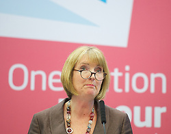 Labour Party Women's Conference 2013<br /> Harriet Harman MP, Deputy leader of the Labour party closing speech during The Labour Party Conference<br /> at the Hilton Metropole Hotel, Brighton, United Kingdom, Saturday, 21st September 2013. Picture by Elliott Franks / i-Images
