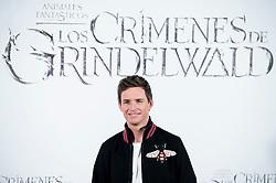 British actor Eddie Redmayne attends to presentation of film 'Fantastic Beasts: The Crimes of Grindelwald' (Animales Fantásticos: Los Crímenes de Grindelwald) at Hotel Villa Magna in Madrid, Spain. November 16, 2018. Photo by Borja B.Hojas/Alter Photos/ABACAPRESS.COM