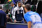 Eurocup 2015-2016 Last 32 Group N Dinamo Banco di Sardegna Sassari - Szolnoki Olaj <br /> GIOCATORE : Kenneth Kadji<br /> CATEGORIA : Riscaldamento Before Pregame<br /> SQUADRA : Dinamo Banco di Sardegna Sassari<br /> EVENTO : Eurocup 2015-2016 GARA : Dinamo Banco di Sardegna Sassari - Szolnoki Olaj <br /> DATA : 03/02/2016 <br /> SPORT : Pallacanestro <br /> AUTORE : Agenzia Ciamillo-Castoria/C.Atzori