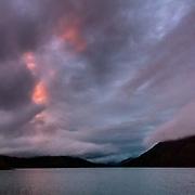 Last light, Loch Goil, Argyll & Bute, Scotland.