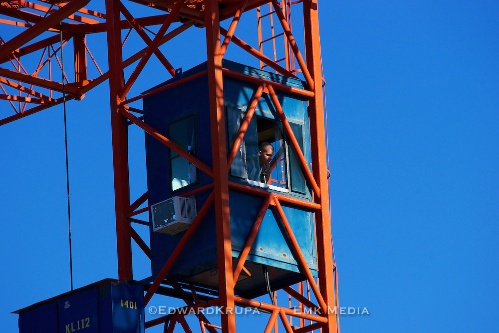 Construction tower crane operator.