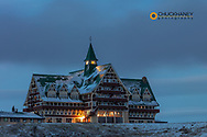 Prince of Wales Hotel in Waterton Lakes National Park, Alberta, Canada