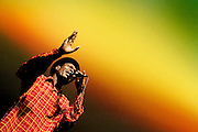 Vernon Maytone, respected reggae artist, sings as a special guest with the Bedouin Soundclash at the Ottawa International Jazz Festival  on Saturday, June 25, 2006. The festival runs from June 22 to July 2, 2006.  .Photo By Sean Kilpatrick