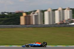Esteban Ocon (FRA) Manor Racing <br /> 11.11.2016. Formula 1 World Championship, Rd 20, Brazilian Grand Prix, Sao Paulo, Brazil, Practice Day.<br /> Copyright: Charniaux / XPB Images / action press