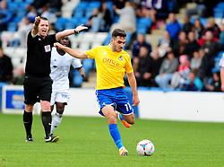 Bristol Rovers' Jake Gosling - Photo mandatory by-line: Neil Brookman/JMP - Mobile: 07966 386802 - 01/11/2014 - SPORT - Football - Telford - New Bucks Head Stadium - AFC Telford v Bristol Rovers - Vanarama Football Conference