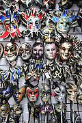 Rome, Italy Souvenir Shop selling Venetian masks